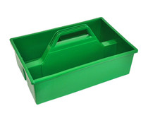 CLEANING TOTE TRAY / CARRYING CADDY GREEN