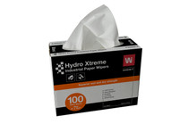 WYPALL WHITE HYDRO XTREME WIPERS 100/BOX