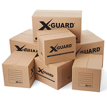 X-GUARD BOXES MEDIUM (12X12X12) 10/PK
