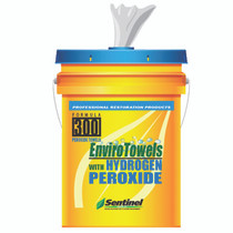 SENTINEL 300 ENVIROTOWELS WITH HYDROGEN PEROXIDE 5 GAL (290 WIPES)