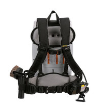 PROTEAM PROVAC FS 6 BACKPACK VACUUM W/ COMMERCIAL POWER NOZZLE TOOL KIT