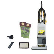 PROTEAM PROFORCE 1500XP UPRIGHT VACUUM W/ ONBOARD TOOLS