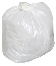 "TRASH CAN LINER WHITE 20""X22"" CS/500"