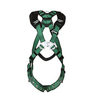 MSA V-FORM HARNESS STANDARD W/ BACK & SHOULDER D-RINGS TONGUE BUCKLE LEG STRAPS