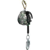 MSA V-TEC STANDARD CABLE SELF-RETRACTING LIFELINE 20'  STAINLESS STEEL CABLE