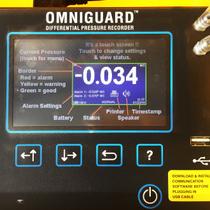 OMNIGUARD 5 CELLULAR DIFFERENTIAL PRESSURE RECORDER