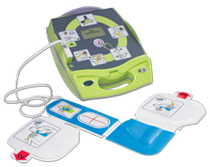 ZOLL AED PLUS SEMI-AUTOMATIC DEFIBILLATOR (FRENCH)