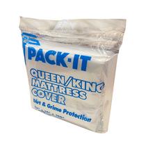 "PACK-IT MATTRESS BAG COVER QUEEN / KING 78"" X 14"" X 100"" 1.6 MIL EACH"