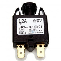 DRIEAZ CIRCUIT BREAKER - 12A THERMAL SNAP ON