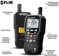 FLIR MR77 PINLESS MOISTURE METER & HYGROMETER