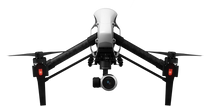 DJI INSPIRE 1 DRONE WITH INTEGRATED FLIR ZENMUSE XT THERMAL CAMERA  AND 4K X3 VISUAL CAMERA  - DEMO UNIT