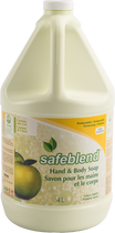 SAFEBLEND HAND & BODY SOAP GREEN APPLE 4L