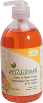 SAFEBLEND HAND & BODY SOAP MANGO-PAPAYA  500 ML