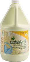 SAFEBLEND HAND & BODY SOAP FRAGRANCE FREE 4L