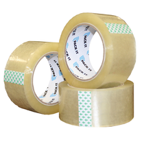 PACK-IT PACKING TAPE CLEAR 48MMX100M