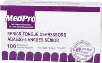 TONGUE DEPRESSORS SENIOR 100/BX