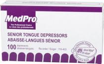 TONGUE DEPRESSORS SENIOR 100/BX