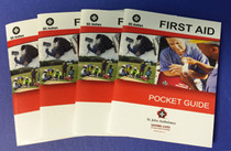 ST JOHN'S AMBULANCE FIRST AID POCKET GUIDE