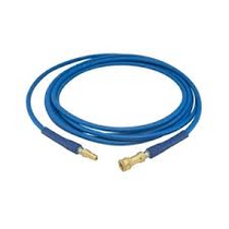 """ESTEAM 1/4"""" HIGH PRESSURE SOLUTION HOSE 150' WITH QUICK CONNECTS"""