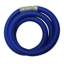 "ESTEAM 1.5"" BLUE VAC HOSE 25' W/CUFFS"