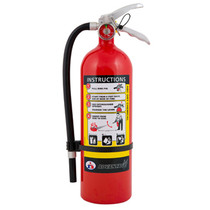 FIRE EXTINGUISHER ABC 5 LBS W/WALL BRACKET