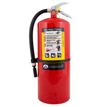 FIRE EXTINGUISHER ABC 20LBS W/WALL BRACKET
