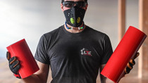 """LTE DUCT GRILL MASK 8"""" X 200' - PERF EVERY 4"""""""