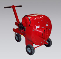 NIKRO #4 GASOLINE POWERED AIR DUCT CLEANING PACKAGE