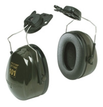 3M PELTOR OPTIME 101 EARMUFFS HARD HAT ATTACHED 10 PR/CS