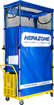 HEPAZONE S PORTABLE CONTAINMENT SYSTEM W/ ELECTRIC HEPA NOMAD