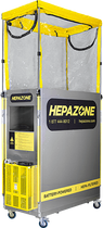 HEPAZONE M PORTABLE CONTAINMENT SYSTEM METAL W/ BATTERY OPERATED HEPA NOMAD
