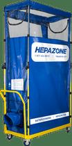 HEPAZONE S PORTABLE CONTAINMENT SYSTEM, NO FAN