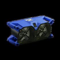 PHOENIX FOCUS II DUAL AXIAL AIR MOVER 1.1 AMP 1015 CFM BLUE