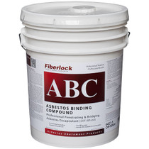 FIBERLOCK ABC ASBESTOS BINDING COMPOUND OFF WHITE 5GAL