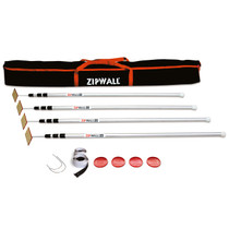 ZIPWALL SPRING LOADED 12' CONTAINMENT POLES 4/PK