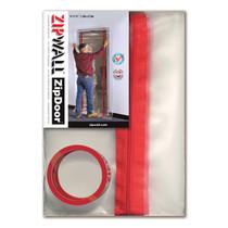 ZIPWALL ZIPDOOR STANDARD KIT 4' X 7.5'