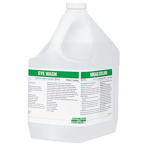 EYE WASH SOLUTION W/BORIC ACID 4L