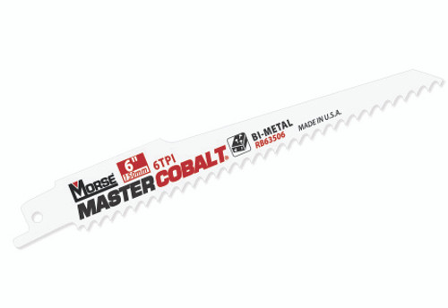 "MASTER COBALT 6"" ECONO WOOD BLADE 6TPI   5PK"