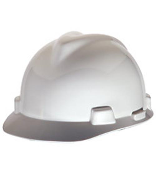 MSA SUPER-V HARD HAT WHITE TYPE 2 FAS-TRAC SUSPENSION