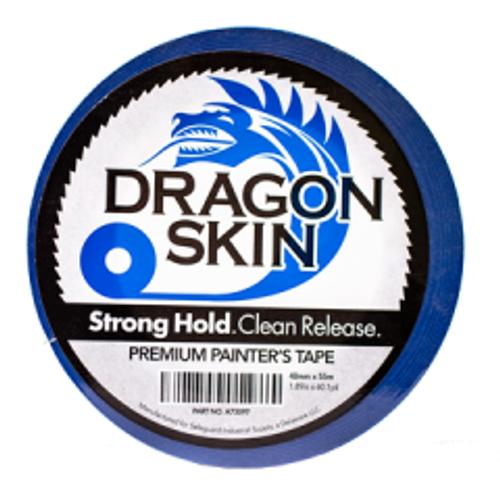 "DRAGON SKIN PREMIUM BLUE PAINTERS TAPE 2"" X 55M  24/CASE"