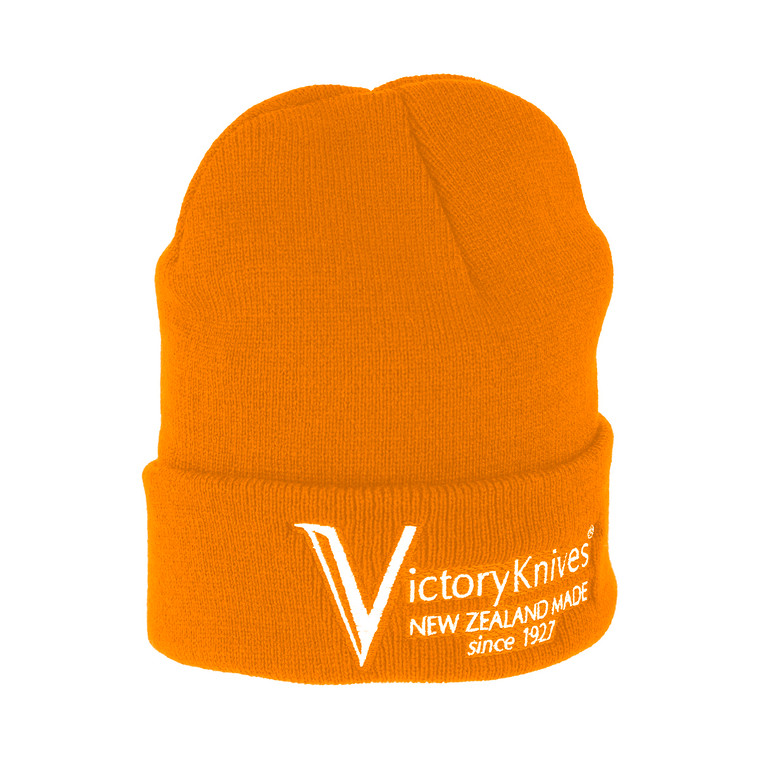 Victory Knives Beanie Orange High Viz