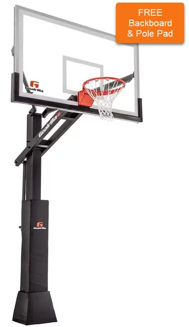 CV72 Goalrilla Basketball Hoop & Installation (Hoop $2299.95 & Install/Delivery $450)