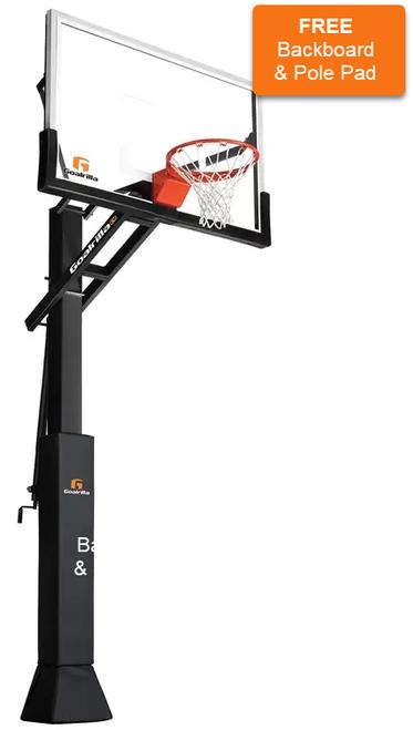 CV60 Goalrilla Basketball Hoop & Installation (Hoop $1999.95 & Install/Delivery $450)