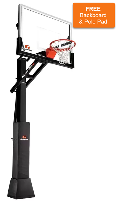 CV54 Goalrilla Basketball Hoop & Installation (Hoop $1699.95 & Install/Delivery $450)