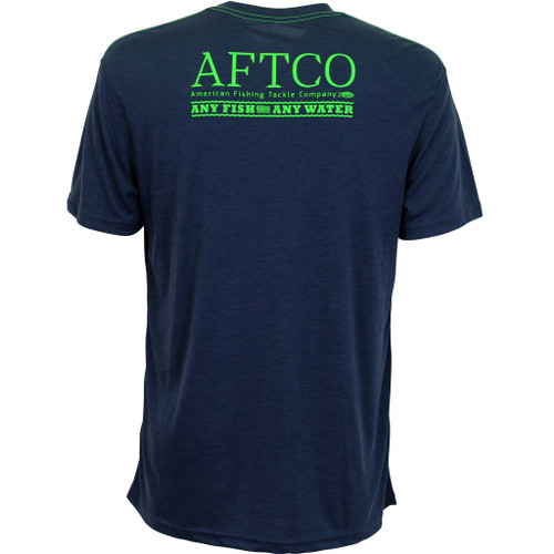 AFTCO anytime, navyheather, 2XL, SS