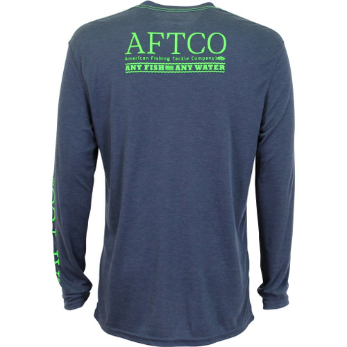 AFTCO anytime, navyheather, L