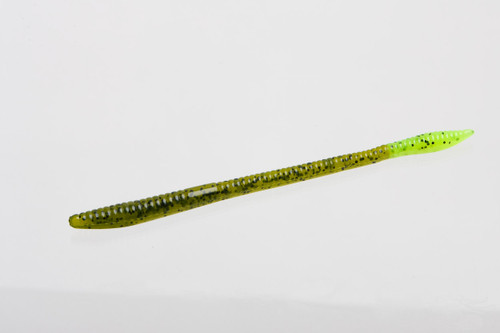"Zoom 6"" Trick Worm. watermelon/chart 20/pk"