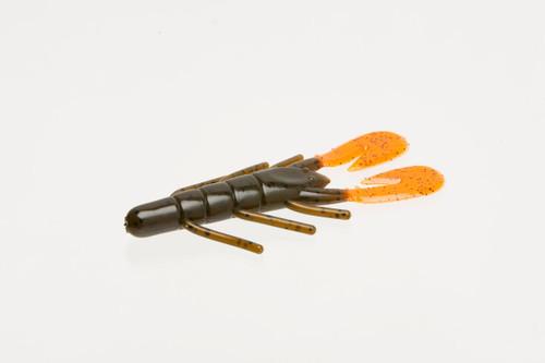 Zoom U-vib spd craw, grn/punpk/oran, 12/pk