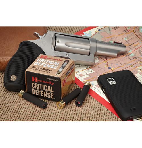 """Hornady Critical Defense 410 Triple defense 2.5"""" 20/bx"""
