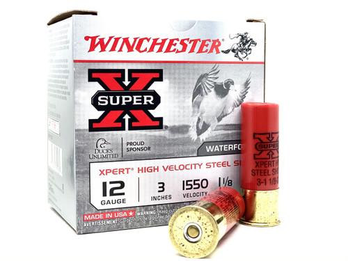 "Winchester SuperX 12ga, 3"", 1.1/8oz, #3, 25/bx"